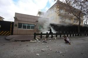 EEUU confirma atentado terrorista en su embajada en Turquía