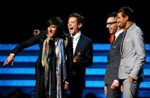 """""""We Are Young"""" se lleva el Grammy como Canción del Año (Foto)"""