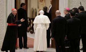 Benedicto XVI se despide de sus sacerdotes de Roma (Fotos)