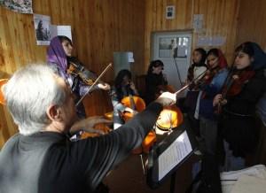 La música, una nueva cara para Afganistán