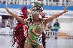 Multitud festeja carnaval en Río de Janeiro para entrar en Guinness Récords (Fotos)