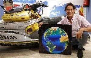 Un aventurero español repetirá en moto náutica la travesía de Ponce de León