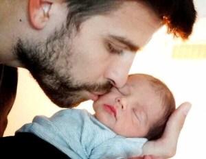 Conoce a Milan, el hijo de Shakira y Piqué (Fotos)