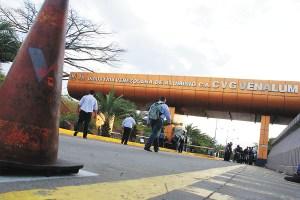 Gobierno ordena a la milicia reforzar seguridad en Venalum (Fotos)