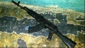 Recuperaron en Cumaná fusil AK 103 robado en San Fernando de Apure