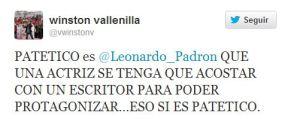 Winston Vallenilla y Leonardo Padrón se van a las manos en Twitter (Imágenes)