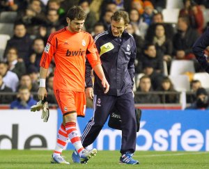 """Casillas dice que en un mes estará """"pepita"""""""