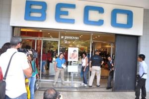 Cerradas por 72 horas las tiendas Beco a nivel nacional (Fotos)