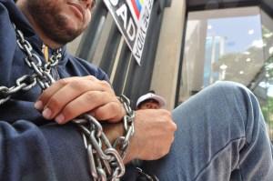 Dirigentes estudiantiles exigen se restablezca el hilo constitucional en el país (FOTOS)