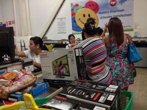 Carnaval de compras nerviosas en Sigo de Margarita (Fotos)