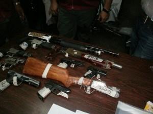 PoliMiranda entregó más de 150 armas de fuego al Ministerio Público