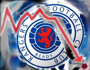 Glasgow Rangers fue sancionado pero le dejaron tener sus títulos