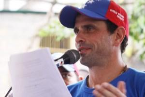Capriles: Este Gobierno que dice ser nacionalista, no produce nada y depende de las importaciones