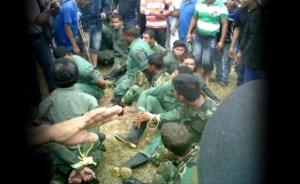 Los indígenas liberaron a soldados retenidos en Urimán