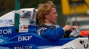 Cecotto llegó en el puesto 13 en las pruebas antes del mundial de la GP2