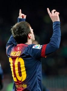Messi continúa como el máximo goleador de la Liga española