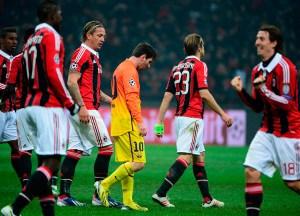 """El Milan """"sentó"""" y dejó boquiabierto al Barcelona al ganar 2 a 0 el encuentro"""