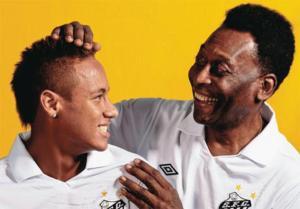 "Pelé considera que Neymar es un jugador ""común"" en la canarinha"