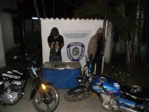 Polisalias desmantela banda de ladrones motorizados