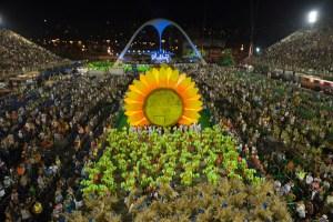 La escuela de samba Vila Isabel es la campeona del Carnaval de Río