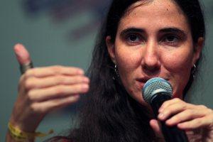 Yoani Sánchez: Conozco bien cuando la espiral del odio ideológico se instala en el poder