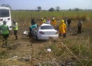 Familia muere aplastada en accidente ocurrido en Carretera Píritu – Turén