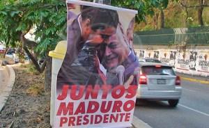 """Maduro responde a sus """"afiches presidenciales"""": Es una trampa de los """"sifrinitos"""""""
