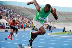 Usain Bolt regresó a las pistas