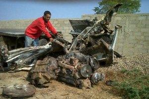 Murieron carbonizados dos hombres al chocar contra vacas en la Lara-Zulia (Foto)