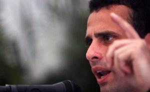 Capriles da la bienvenida a Chávez y espera que ponga cordura en su Gobierno