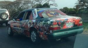 Un carro más chavista que Chávez (Foto + WTF)
