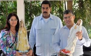 Jaua: Nicolás, Cilia y yo tuvimos un encuentro profundamente humano con Chávez