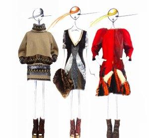 """Custo propone una mezcla """"bella y bestia"""" en la Semana de la Moda de NY"""