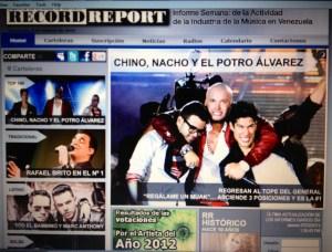 Chino y Nacho ¡Conquistan la cartelera venezolana!