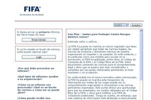 La Fifa abrió una mensajería en internet para denunciar partidos trucados