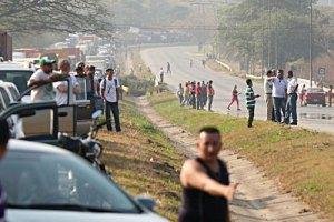 Controlan fuga de gas y restablecen tráfico en Naguanagua