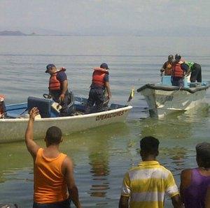 Hallado cadáver de uno de los desaparecidos en el Lago de Valencia
