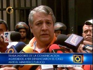 Comunicadores denuncian en la Fiscalía agresiones por parte de la GNB (Video)