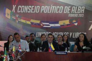 X Consejo del Alba se celebra sin Chávez