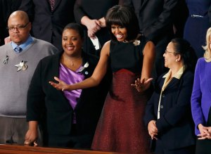 Michelle Obama repite modelo de Jason Wu en discurso del Estado de la Unión