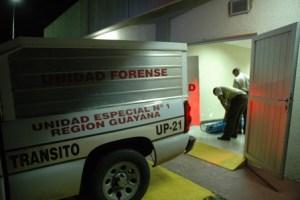 Matan a dos personas en menos de 24 horas en Ciudad Guayana