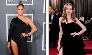 Jennifer López, Angelina Jolie o Alessandra Ambrosio ¿cuál piernita prefieres? (Foto)