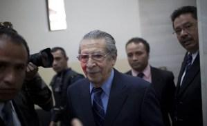Defensa de Ríos Montt recurre adelanto del juicio por genocidio en Guatemala