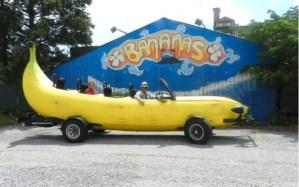 Vas a querer recorrer el mundo con esta banana (Foto)
