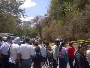 Matan a hombre en las instalaciones de la UCV (FOTOS)