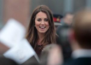 Kate da a entender en un lapsus que tendrá una niña