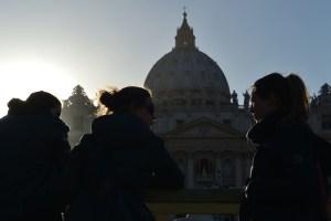 A un día de que comience la misa inaugural del pontificado de Francisco (Fotos)