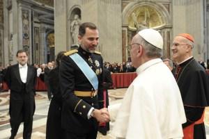 El Papa saludó a delegaciones extranjeras en la Basílica de San Pedro (Fotos)