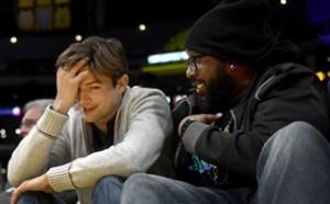 Estrellas de Hollywood disfrutaron de una noche de baloncesto (Fotos)