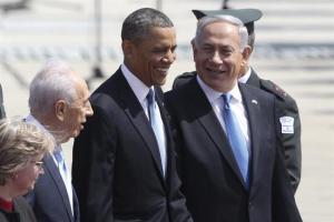 Obama llega a Israel en su primera visita como presidente de EEUU